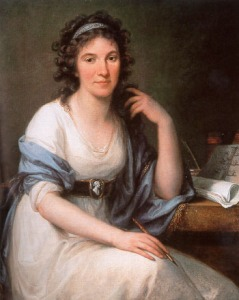 Ellis Cornelia Knight by Angelika Kauffmann in 1793